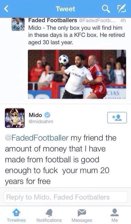 Mido tweet