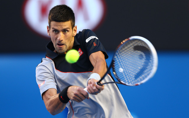 Australian Open 2015: Novak Djokovic survives early scare from Aljaz Bedene to advance into second round