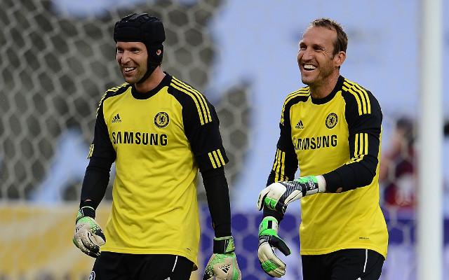 Petr Cech Mark Schwarzer Chelsea