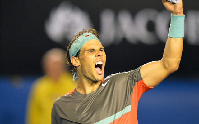 Rafael Nadal tips the end to the reign of the 'big four' in men's tennis