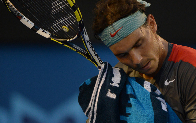 Twitter left stunned as Rafal Nadal close to retiring due to back injury