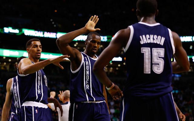 NBA scores: Oklahoma City Thunder beat the Boston Celtics 101-83 on the road