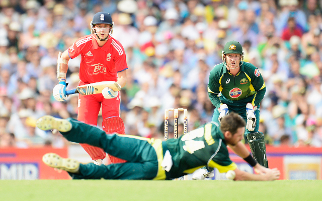 England v Australia ODI score update: Away side reach 243 in their innings