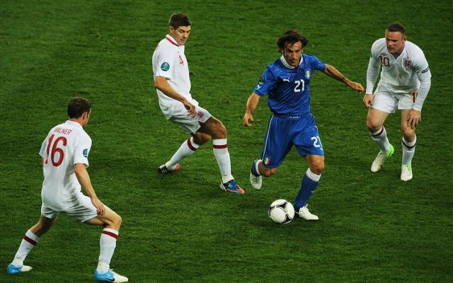 Italy midfield ace Andrea Pirlo praises Liverpool star