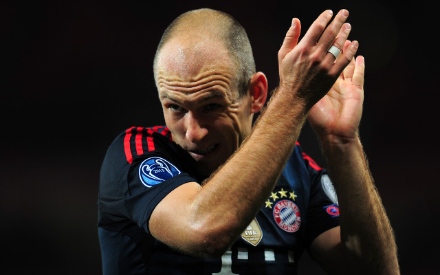 Ex Chelsea star Arjen Robben deals Manchester United transfer blow