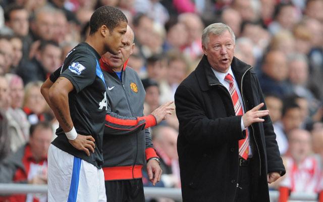 Bebe Alex Ferguson Manchester United