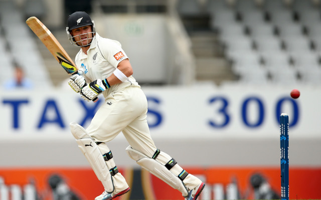 (Video) Brendon McCullum scores 224 against India in first Test match in Auckland