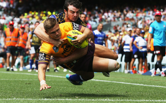 (Video) 2014 NRL Auckland Nines: Brisbane Broncos v Canterbury Bulldogs – full highlights