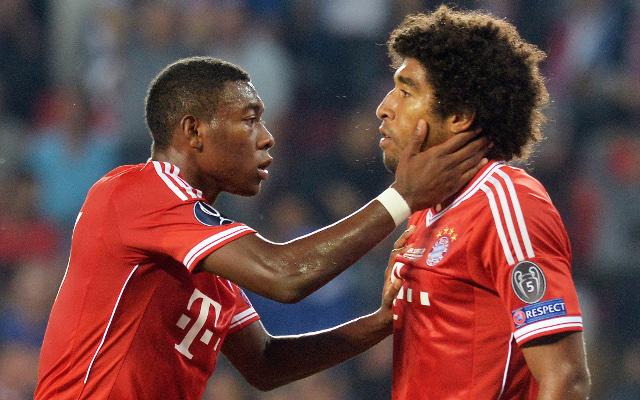 David Alaba Dante Bayern Munich