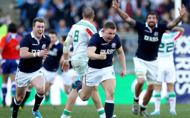 (Video) Six Nations Rugby Championship: Scotland v Italy – match report/highlights