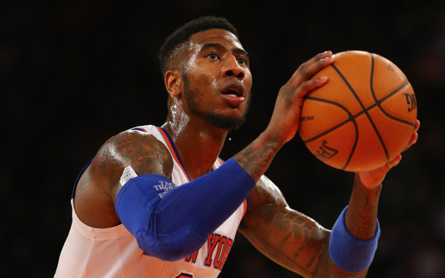 NBA trade rumors: New York Knicks' Iman Shumpert has a strained MCL
