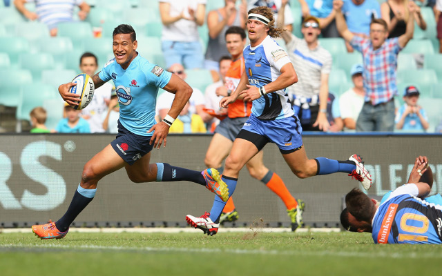 Super 15 rugby union live scores and news: Israel Folau stars in big Waratahs win