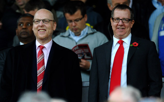 Joel and Bryan Glazer Manchester United