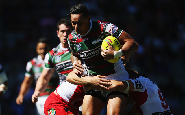 South Sydney Rabbitohs coach hints at change in position for John Sutton