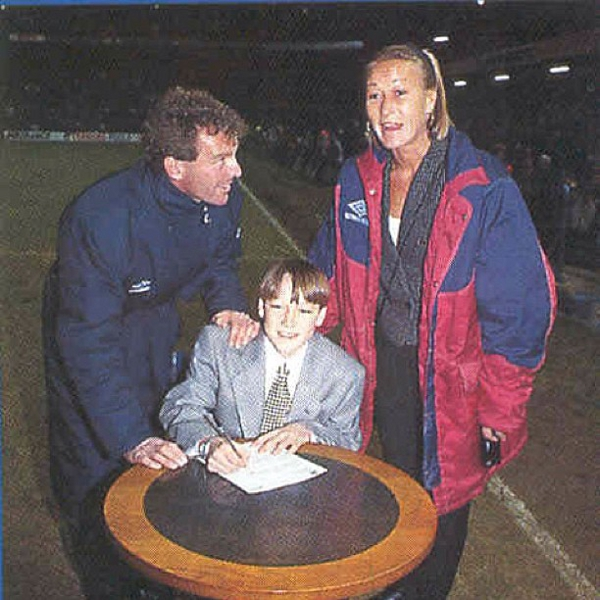 John Terry first Chelsea contract
