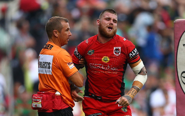 Josh Dugan's ankle injury rules him out until round 5 of NRL season