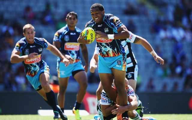 (Video) 2014 NRL Auckland Nines: Cronulla Sharks v Gold Coast Titans – full highlights