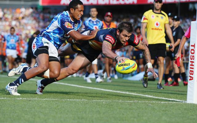 (Video) 2014 NRL Auckland Nines: New Zealand Warriors v North Queensland Cowboys – full highlights