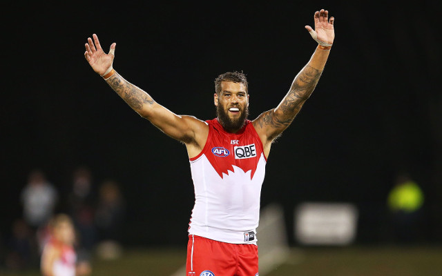 Lance Franklin in doubt to take on Hawthorn Hawks next round