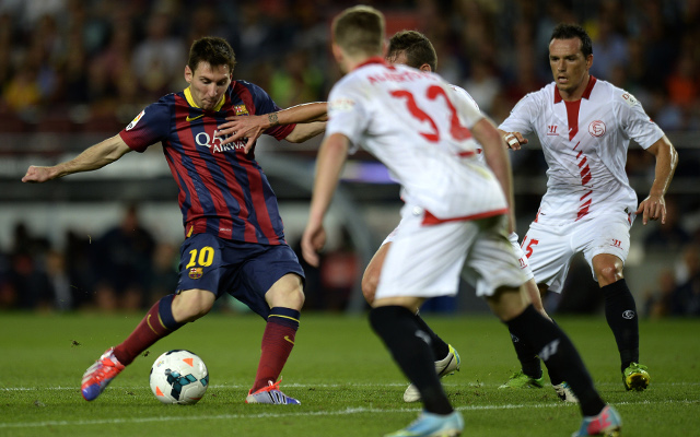 (Video) Lionel Messi bags wonderful brace for Barcelona