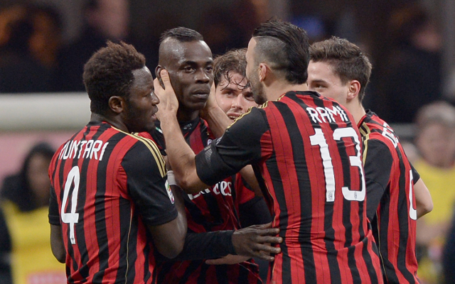 (Video) Balotelli free-kick blinder puts Milan ahead