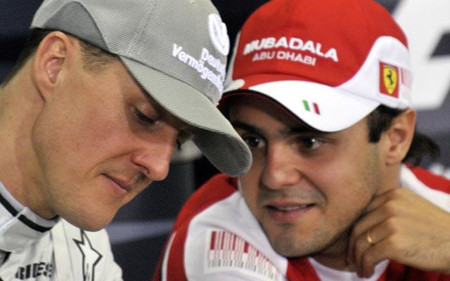 Michael Schumacher Felipe Massa