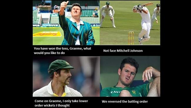Mitchell Johnson meme
