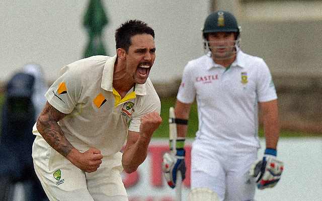 Australian bowlers strike early against South Africa in second Test match