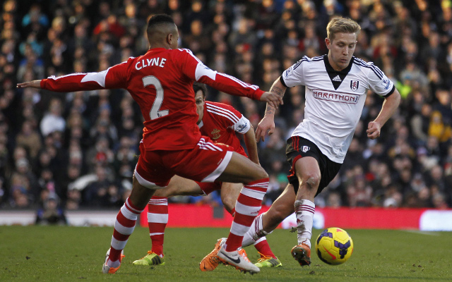Nathaniel Clyne Southampton Lewis Holtby Fulham