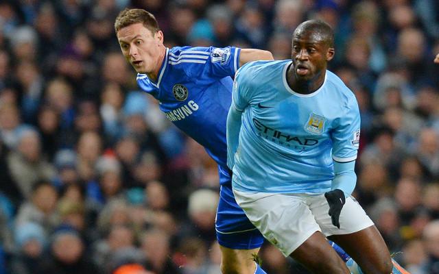 Nemanja Matic Chelsea Yaya Toure Manchester City