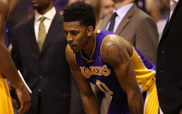 Nick Young's broken knee adds another injury woe to the Los Angeles Lakers