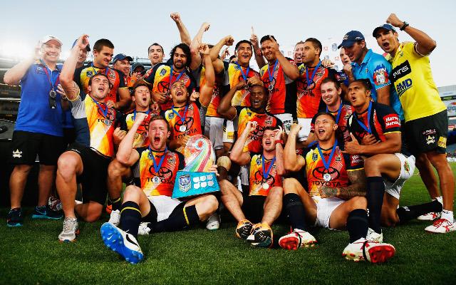 (Video) 2014 NRL Auckland Nines: North Queensland Cowboys v Brisbane Broncos – full highlights