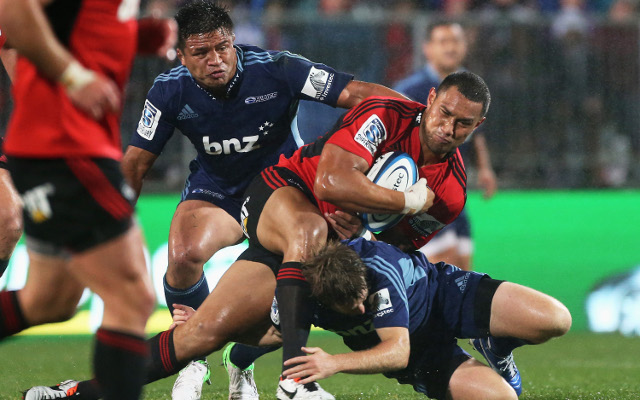 Super 15 rugby union scores: Auckland Blues beat Canterbury Crusaders 35-24