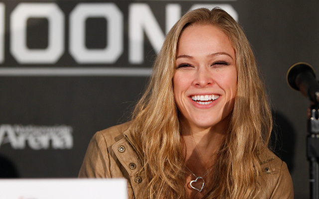 (Video) UFC 170 Ronda Rousey v Sara McMann weigh-in full highlights