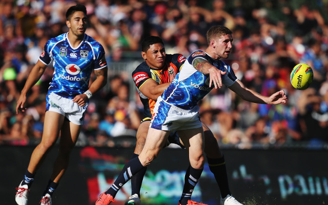 (Video) 2014 NRL Auckland Nines: North Queensland Cowboys v New Zealand Warriors – full highlights