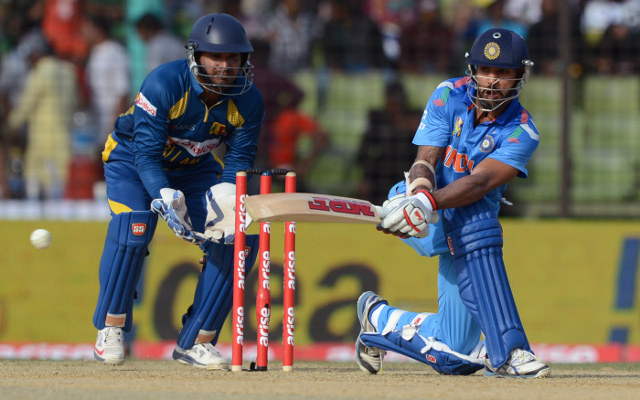 Asia Cup 2014 live scores: India v Sri Lanka – spinners claim bulk of Indian wickets