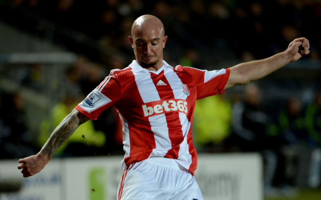 (Image) Check out Stoke star Stephen Ireland's HORRIFIC leg wound after Hull game