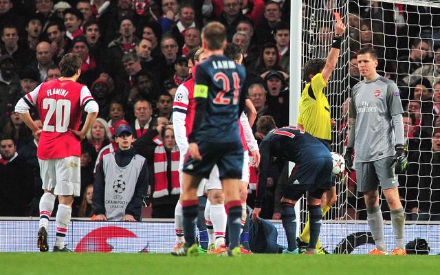 Arsenal's Wojciech Szczesny will not face ban for 'wan*er' gesture against Bayern Munich
