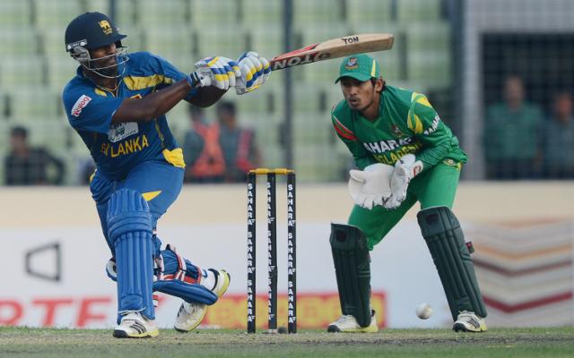 Sri Lanka reach 180 in ODI against Bangladesh thanks to Thisara Perera