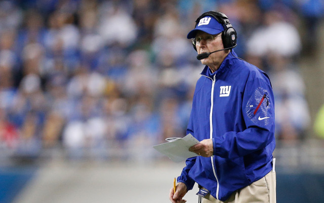 REPORT: New York Giants head coach Tom Coughlin's job is safe