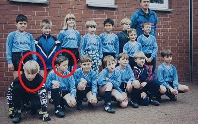 Young Manuel Neuer Bayern Munich Mesut Ozil Arsenal