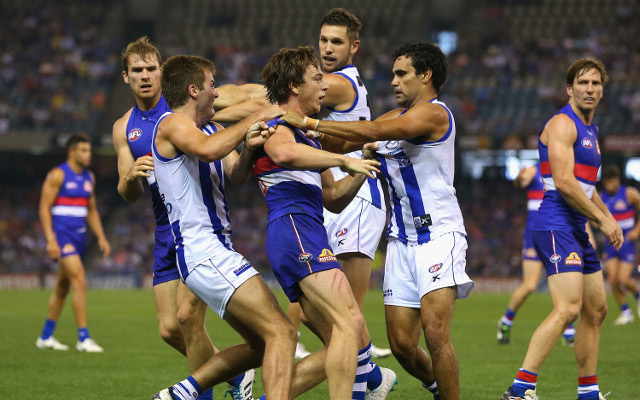 North Melbourne Kangaroos v Western Bulldogs: AFL live scores, highlights – match report