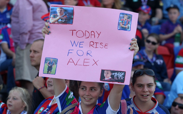 NRL club New Zealand Warriors pledge $20,000 towards Alex McKinnon fund