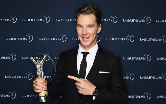 (Video) Actor Benedict Cumberbatch does surprise interview at the Malaysian Grand Prix