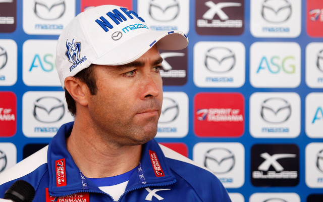 North Melbourne coach Brad Scott 'disgusted' and 'appalled' following capitulation against Collingwood