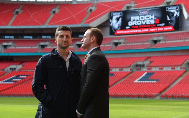 (Video) Boxing news: Carl Froch jokingly recalls time he fought at Wembley