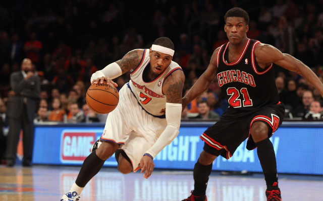 "NBA free agency rumors: Carmelo Anthony liked ""Melo to Chicago"" sign"