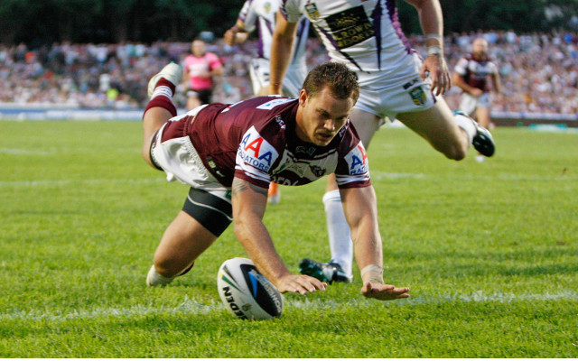 (Video) No try! Manly Sea Eagles try ruled out for a forward pass against Parramatta Eels
