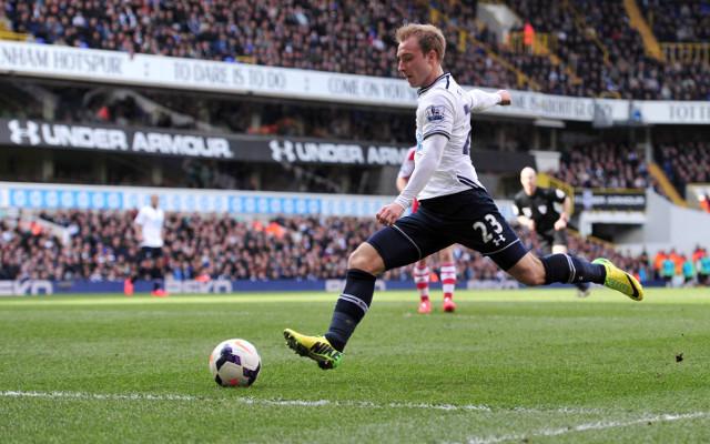 Oh dear, Sherwood: Tottenham boss compares Eriksen to Arsenal legend