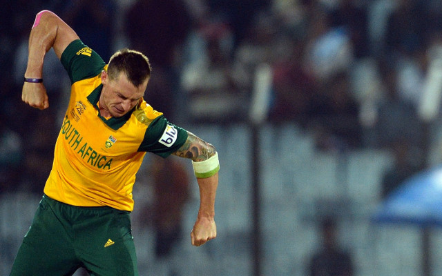 (Video) Dale Steyn's final over against New Zealand at Twenty20 World Cup